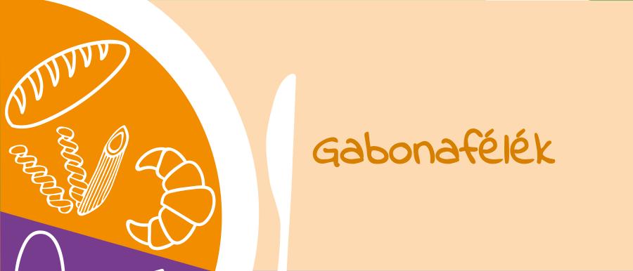 OKOSTÁNYÉR gyerekeknek Gabonafélék